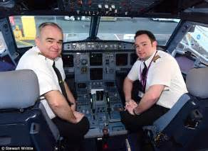 chris rankin british airways father and son co pilot monarch airlines flight from