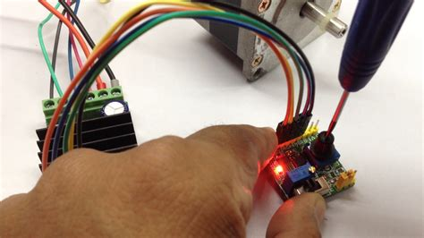 Pulse Generator For Stepper Motor Driver With Ramp Option