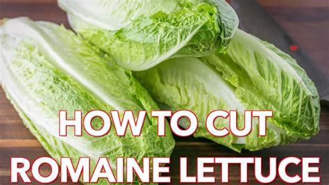 quick tip   cut romaine lettuce natashas kitchen