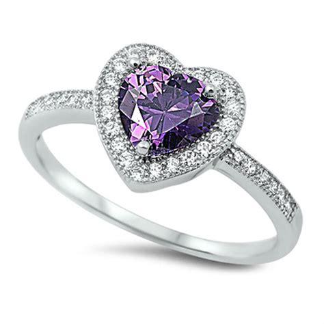 Heart Halo Promise Ring New 925 Sterling Silver Wedding. Silk Earrings. Epilepsy Bracelet. Pear Shaped Sapphire. Puffed Heart Pendant. Brilliant Diamond. 6mm Diamond. Ethiopian Opal Bracelet. Brown Strap Watches