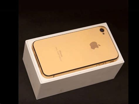 iphone 4 gold iphone 4 gold edition 24ct