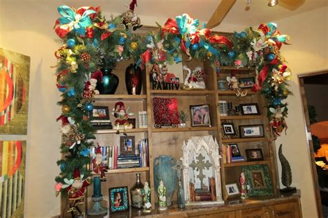 bookcase christmas decorating ideas christmas decorating idea decorate a bookcase with