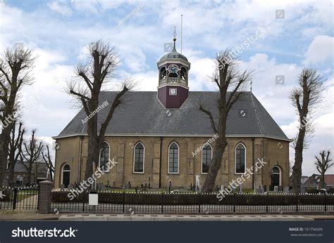 Cupola Church Witmarsum Netherlands Where Menno Stock