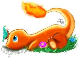 Unofficial Fan Art Charmander from Pokemon