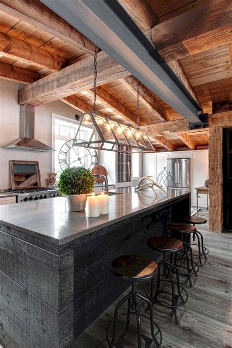 Modern Rustic Home Interiors  24 Spaces