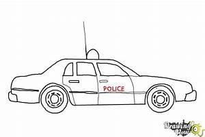 Ford Police Interceptor Drawing
