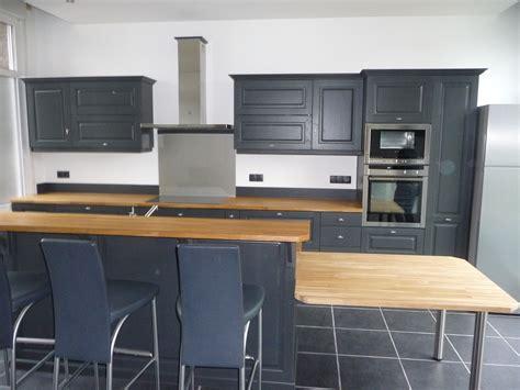 renovation meuble cuisine en chene renovation cuisine chene simple en place et peindre les