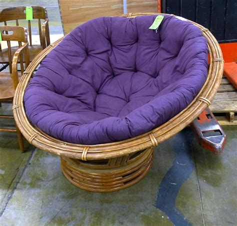 purple papasan chair home furniture design