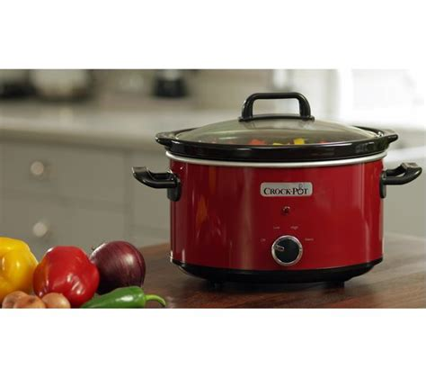 Buy Crockpot Scv400rd Slow Cooker  Red  Free Delivery