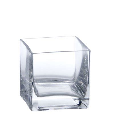 Square Vases by 3 Quot Clear Glass Square Vase Walmart