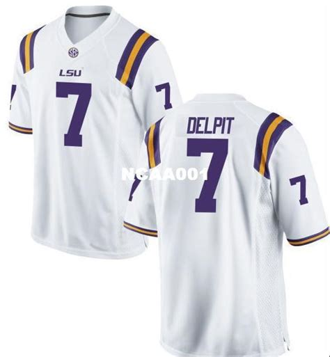 2020 2019 New Player Yellow Men LSU Tigers Grant Delpit #7 ...