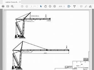 Liebherr Lr 1750 Crawler Crane Service Manuals