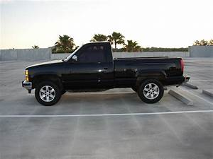 1990 Chevy K1500 4x4 Silverado Sport Step Side 5 7 350