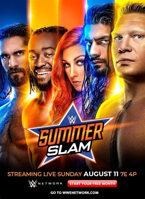 photo wwe releases summerslam poster ewrestlingnewscom