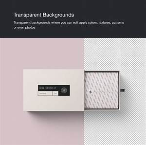 Rectangle Slide Box Mockup