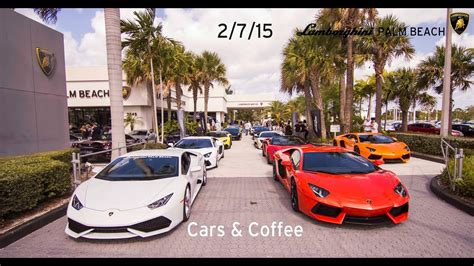 See actions taken by the people who manage and post content. Lamborghini Palm Beach - Cars and Coffee 2/7/15 - YouTube