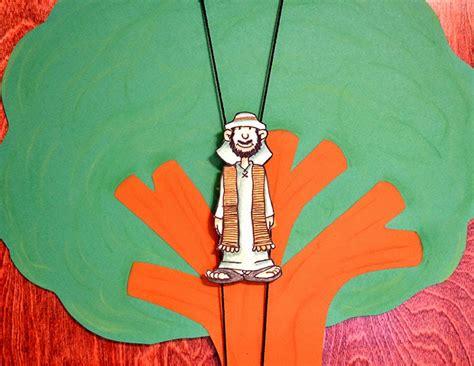 bible class creations zacchaeus climbs  tree