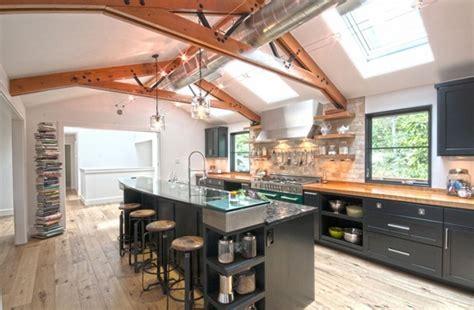 practical  pretty industrial design kitchen ideas