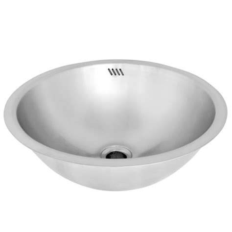 stainless steel undermount bathroom sink ticor s710 undermount stainless steel round bathroom sink