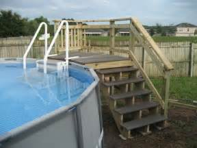 Intex Above Ground Pool with Deck