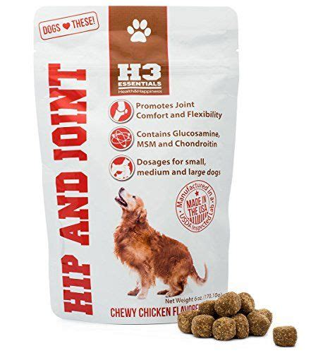 essentials glucosamine  dogs hip  joint