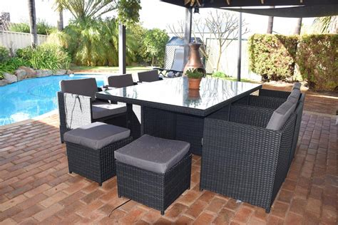 Patio Furniture Financing by 10 Seat Dining Set Outdoor Dining Furniture Urbani