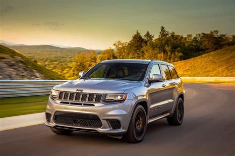 2018 Jeep Grand Cherokee Trackhawk First Drive Crazy