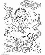 Coloring Elf Prairie Printable Elves Santa Adult Sheets Kleurplaten Merry Popular Templates Kleurplaat Elfen Holiday Coloringhome sketch template