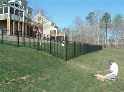 aluminum fencing  richmond fencing unlimited