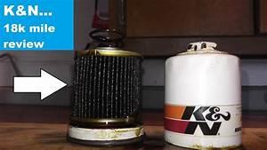 K U0026n Oil Filter 18 000 Mile Review