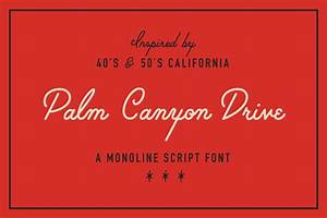 30 cursive fonts ttf otf format design trends With mid century lettering