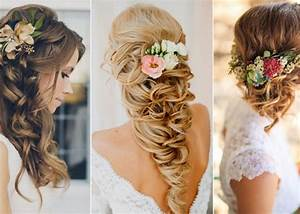 Elegant Wedding Hairstyles: Half Up Half Down TulleandChantilly