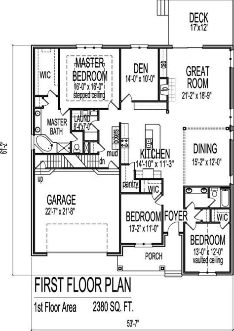 4 Bedroom House Plans With Basement by Awesome 3 Story House Plans With Basement New Home Plans