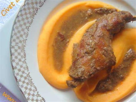 cuisine sauvage recettes recettes de sauvage et lapin