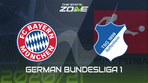 Bayern munich take on hoffenheim in the bundesliga on saturday, with the bavarians looking to extend their seven point lead at the top of the table. 2020-21 German Bundesliga - Bayern Munich vs Hoffenheim ...