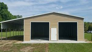 30x50 custom steel building central florida steel With 50 x 70 steel building