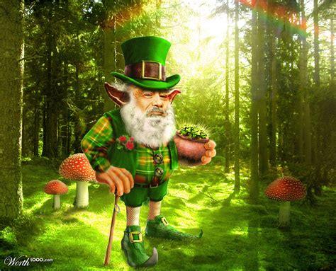 Irish Leprechauns And Fairies