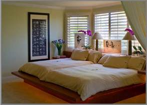 double queen beds for an old married couple contemporary