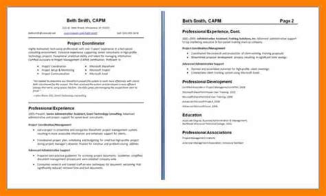 5 two page resume exles hostess resume