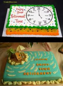 retirement cake ideas the world s catalog of ideas
