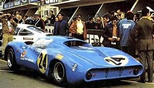 Le Mans 1968 24 Hours Johnny Servoz