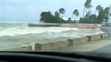 hurricane sandy driving  nassau bahamas youtube