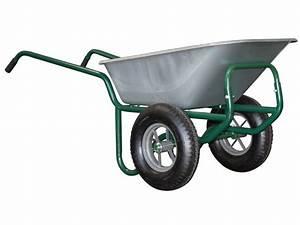 Roue Brouette Haemmerlin : brouette 2 roues haemmerlin tracteur agricole ~ Mglfilm.com Idées de Décoration