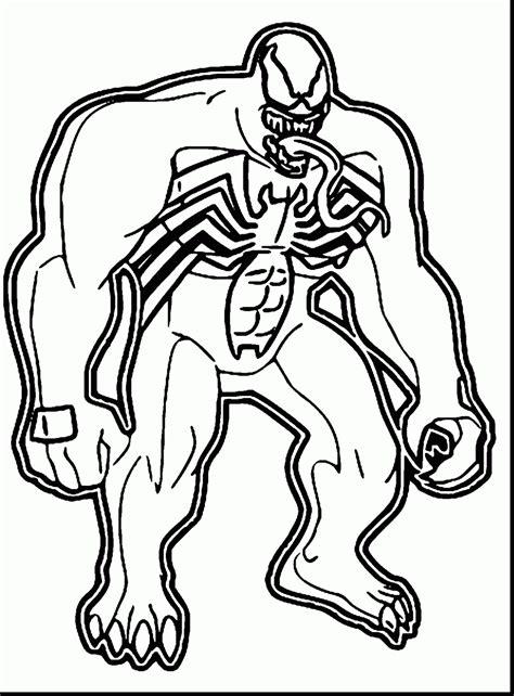 venom coloring pages coloringsuitecom