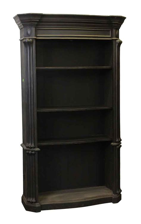 Black Wooden Bookcases by Large Black Wooden Bookcase Olde Things