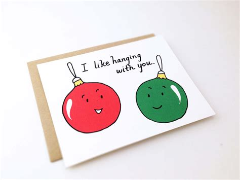 Close friends and bffs (best friends forever) hold a special place in our friends like you make the best christmas gifts. Cute Best Friend Christmas Card // Punny by EuclidStreetShop