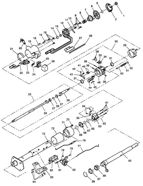 84 Chevy Steering Column Wiring Diagram by I A 1994 Chevy Silverado Z71 With The 6 5l Diesel