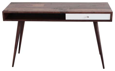 mid century office desk mid century modern laptop desk walnut walnut legs