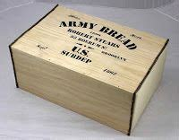 original army hardtack crate included  mess