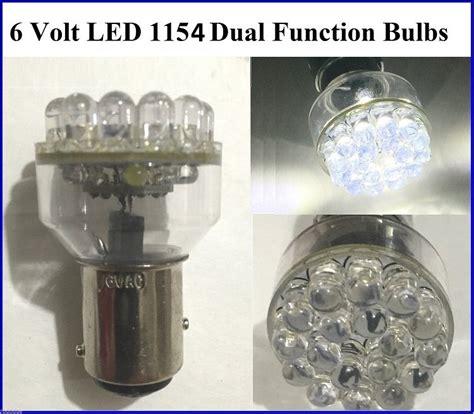 6 volt led lights 1154 6 volt led bulbs dual contact bright white leds